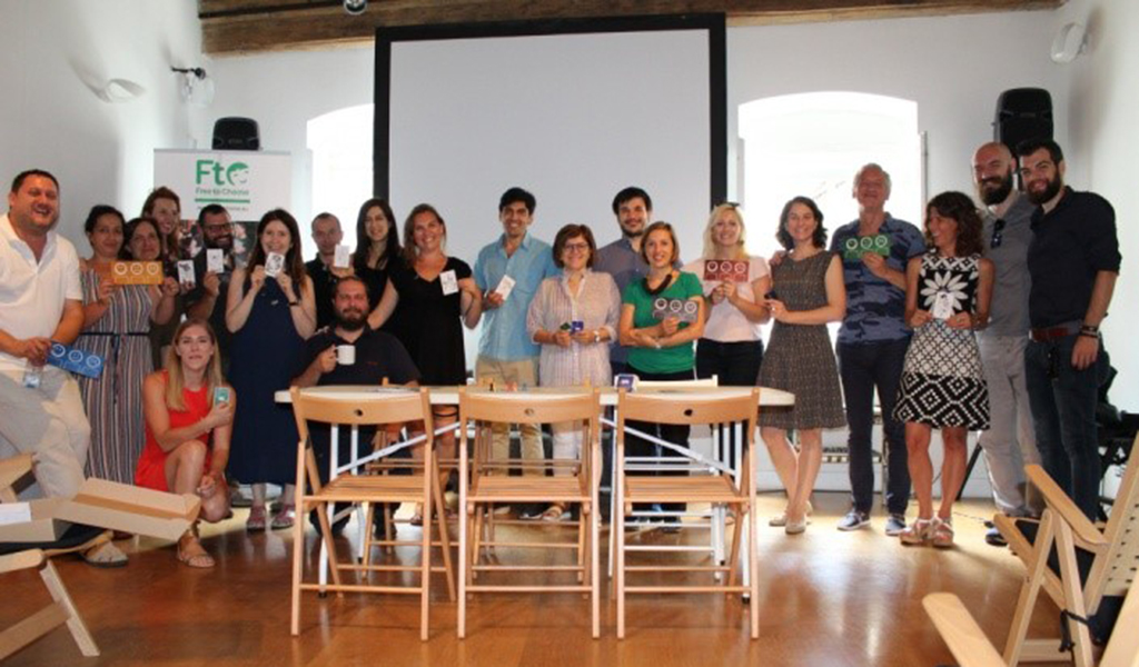 Opciónate viaja a Eslovenia junto a varias organizaciones