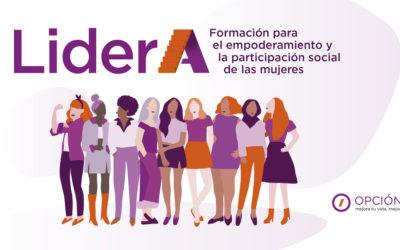 LiderA: Formación online para el empoderamiento y participación social de mujeres jóvenes