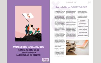 Municipios por la igualdad -Norma SG CITY 50-50