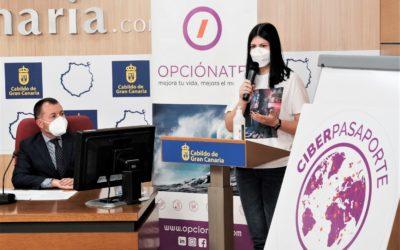 Las y los ciberactivistas presentan con el apoyo de la Unidad de Participación Ciudadana del Cabildo de Gran Canaria, la campaña «Ciberpasaporte para un mundo mejor»